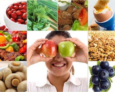 «Дієта» для очей: 6 продуктів, які допоможуть зберегти зір