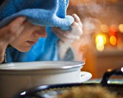 Як правильно дихати над картоплею при кашлі і нежиті, щоб не нашкодити собі