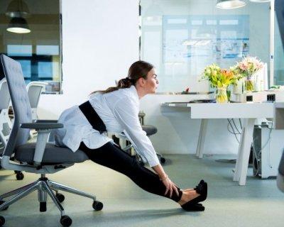 5 хвилин для зарядки в офісі: прості, але ефективні вправи