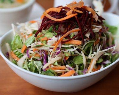 5 кращих і ефективних рецептів салату «Щітка» для очищення кишечника і схуднення